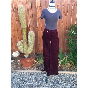 7 for all Mankind, Plum Corduroy, Flare Jeans